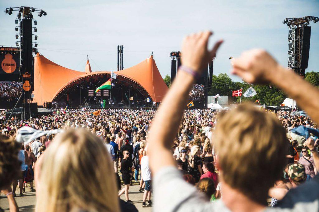 Festivalpodia: Orange Stage Roskilde Festival